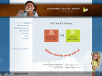 Childrens Dental Group of Walla Walla website